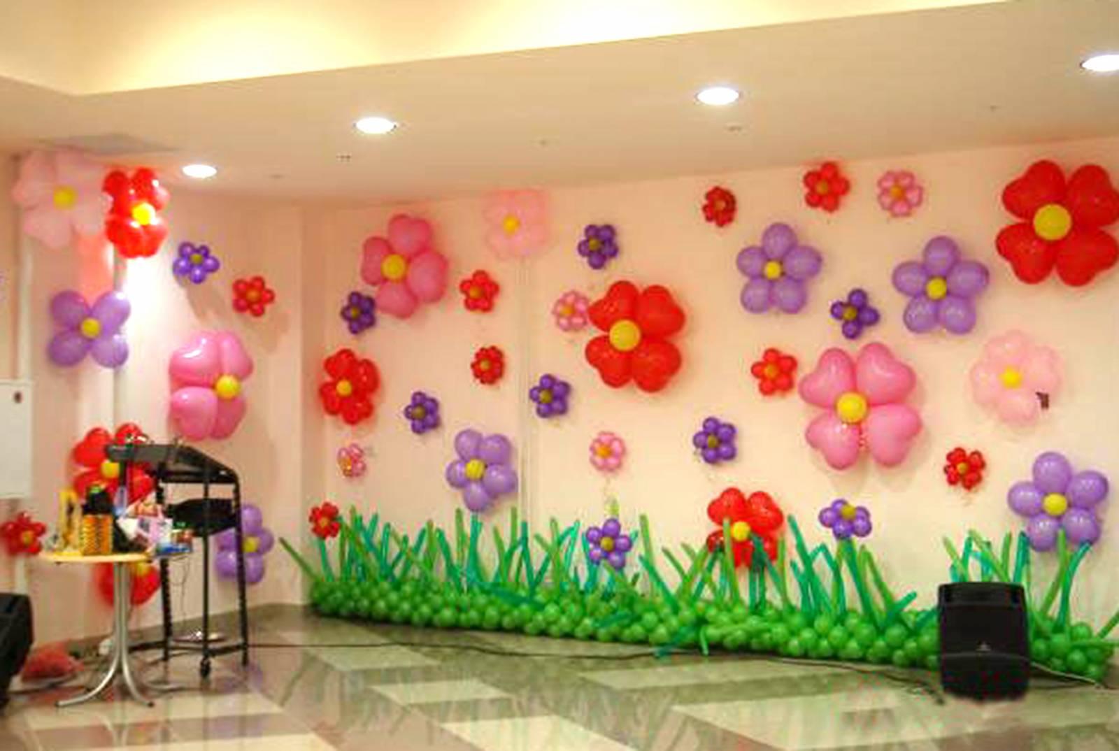 Украшение зала из шаров своими руками фото 29